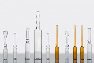 Ampollas de tubo de vidrio