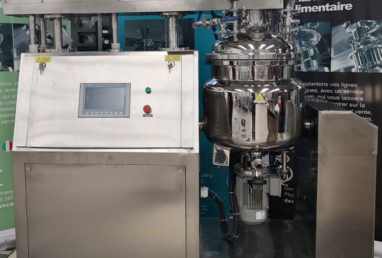 DMC Reactores turboemulsionadores por vacío